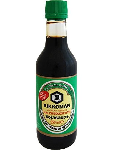 Kikkoman - Salsa De Soja Baja En Sal, 250 Ml