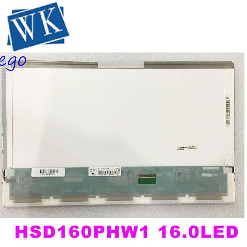 HSD160PHW1 HSD160PHW1-B00 LTN160AT06 16 Inch Led For ASUS N61 N61vg N61JV HP DV6 CQ61 K61IC Laptop LCD LED Screen Display Matrix