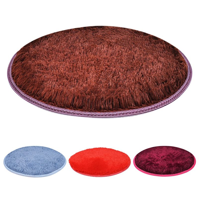Warm Fleece Dog Bed Round Pet Long Plush Cushion For Small Medium Large Dogs & Cat Winter Dog Kennel Puppy Mat Pet Bed 3