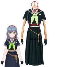 BanG Dream LOCK élever un SUILEN Asahi Rokka école uniforme tenue Anime personnaliser Cosplay Costumes