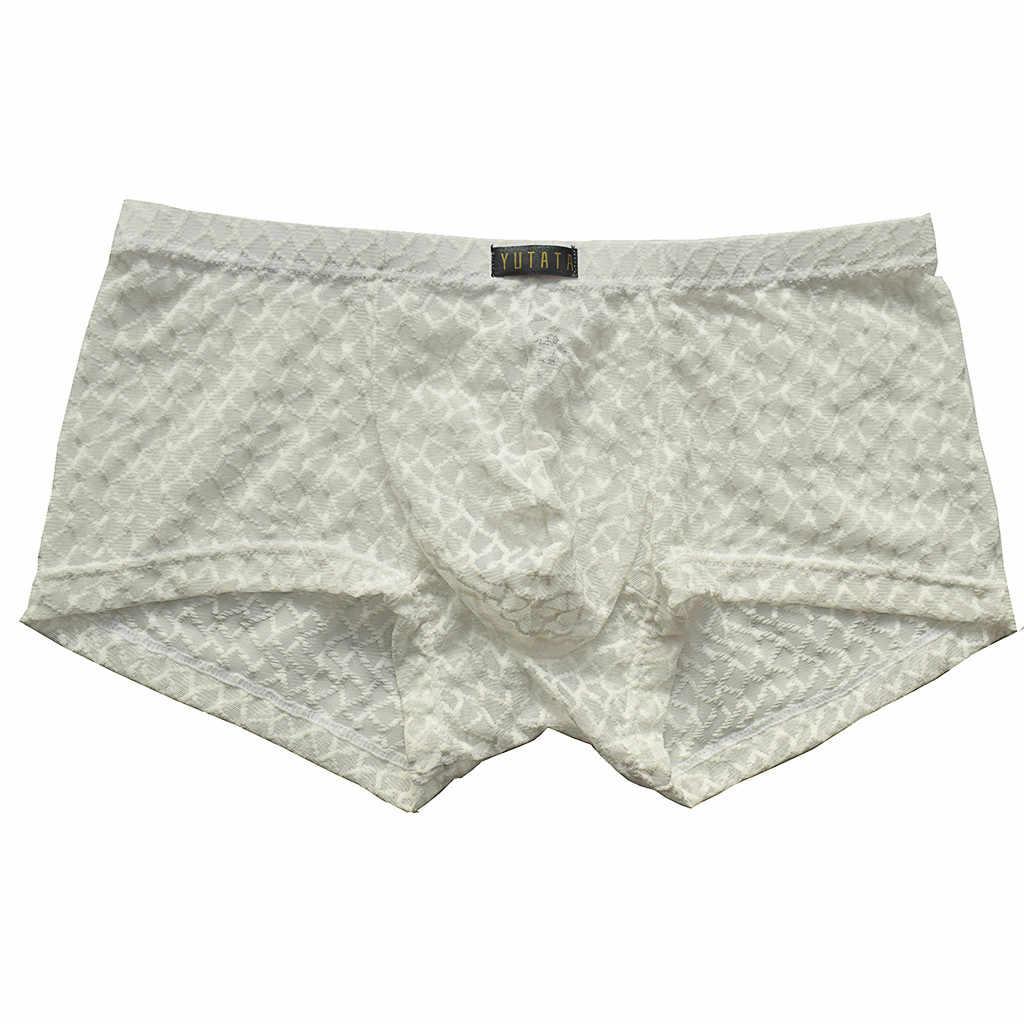2020 bokserki męskie bielizna elastyczna bawełna kalesony męskie Pure slipy męskie spodenki bielizna bokserki bawełniane stałe Cuecas