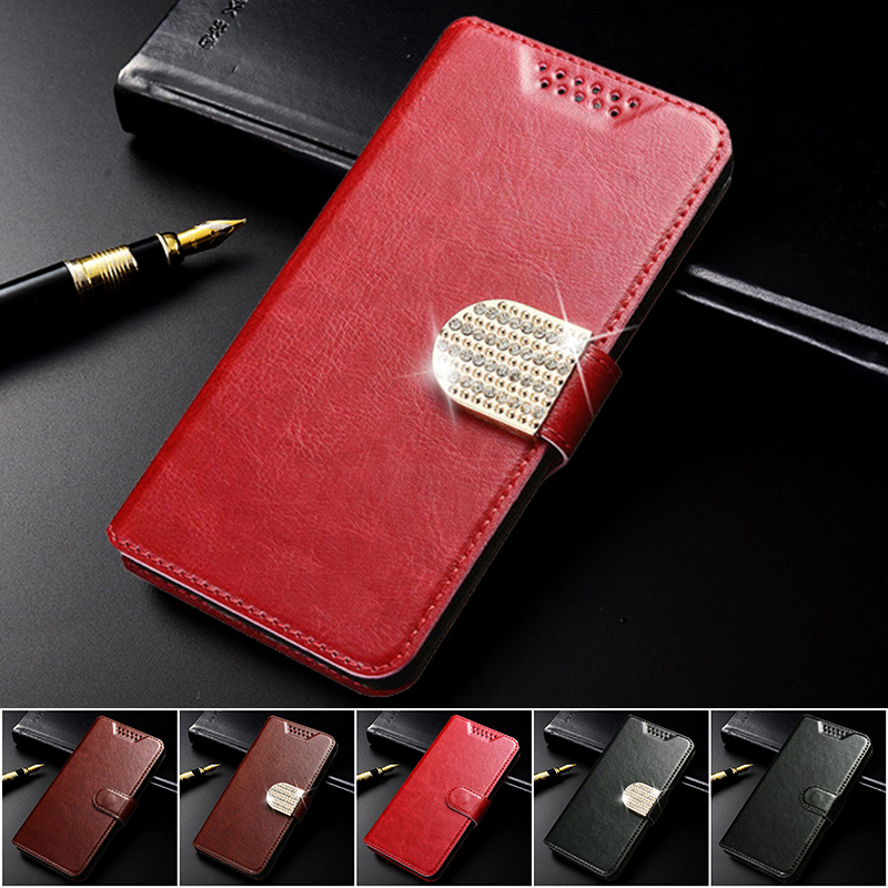 Luxury Leather Cases <font><b>Cover</b></font> for <font><b>Samsung</b></font> Galaxy Star 2 Advance <font><b>G350E</b></font> Grand Neo Plus i9060i Duos i9082 Prime G530 Flip Wallet Case image