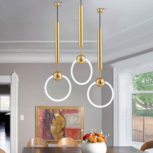 Nordic LED Pendant Lights Modern Glass Ring Pendant Lamp Living Room Light Fixtures Dining Room Bedroom Decor Lighting Luminaria цена в Москве и Питере