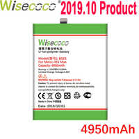 WISECOCO 4950mAh BS25 Batterie Für Mei zu M3 MAX Handy Auf Lager Neueste Produktion Hohe Qualität Batterie + tracking Nummer
