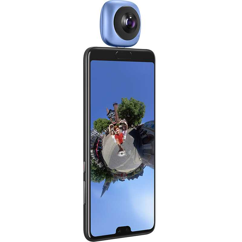 Huawei – caméra vidéo panoramique 360, Android Sports, 3D, mouvement en direct, objectif grand Angle HD VR, téléphone portable externe