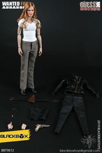 "Image 1 - BLACKBOX Toys BBT9012 GUESS ME SERIES ""WANTED FOX ASSASSIN"" 1/6 ACTION FIGURE"