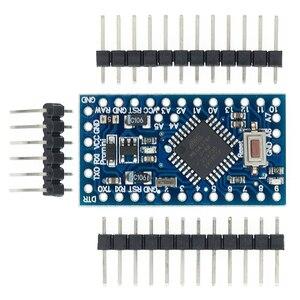 Image 1 - Il trasporto Libero 100 pz/lotto Pro Mini 328 Mini 3.3V/8M 5V/16M ATMEGA328 ATMEGA328P AU 3.3V/8MHz 5V/16MHZ per Arduino