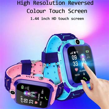 Q12 Children's Smart Watch SOS Phone Watch Smartwatch For Kids With Sim Card Photo Waterproof IP67 Kids Gift For IOS Android Z5S 3