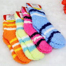 New winter warm baby boy and girl socks brand quality children kids towel thick socks retail(China)