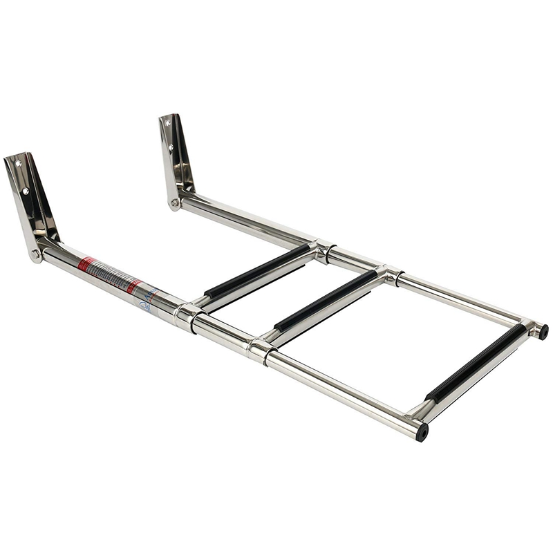 3 Step 304 Stainless Steel Telescoping Boat Swim Step Ladder