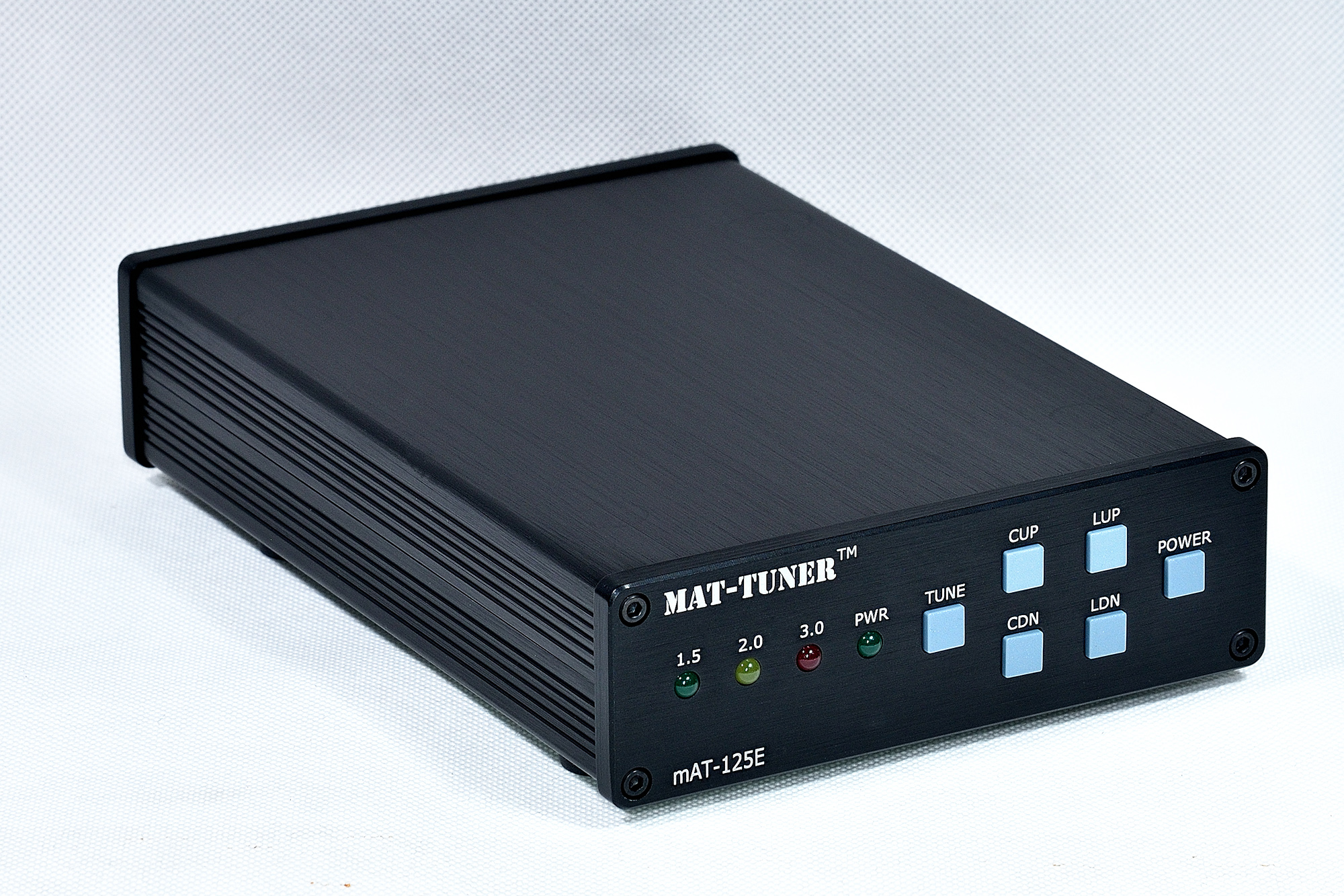 Magnetic Hold Version Mat-125E General Automatic Antenna Tuner 120W 1.8-54MHz HF Shortwave Built-in 18650 Battery