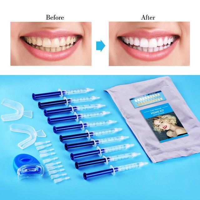 Фото отбеливание зубов 44% пероксид гель набор система отбеливания цена