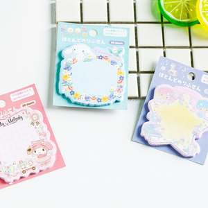 Image 4 - 30packs/lot kawii del fumetto Giapponese adesivo memo sticky segnalibro promemoria carino memo pad per la scuola e ufficio fornitori commercio allingrosso