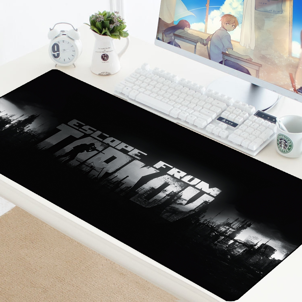Escape from Tarkov Mouse Pad Big Gamer Play Mats Computer Gaming Accessories XL Large Mousepad Keyboard Rubber Games pc Desk Pad