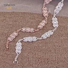 Topqueen s215 свадебное платье пояс формальный свадебный лента