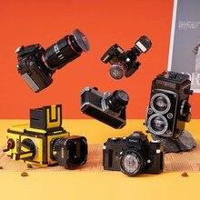 Em estoque 627 peças 2020 nova câmera digital brinquedos fy2a slr câmera blocos de construção tijolos modelo criativo crianças presentes aniversários