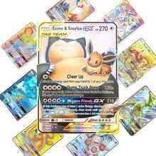 Cartes pokemon brillantes, jeu de cartes de combat, de commerce, jouet pour enfants, meilleure vente 2019, 25 50 100 pièces