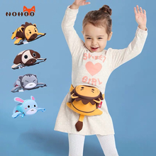 Талия NOHOO сумки для мальчиков девочек 3D мультфильм мини поясная сумка из неопрена водонепроницаемый бум сумка детская мода груди мешок сумки для животных грудь