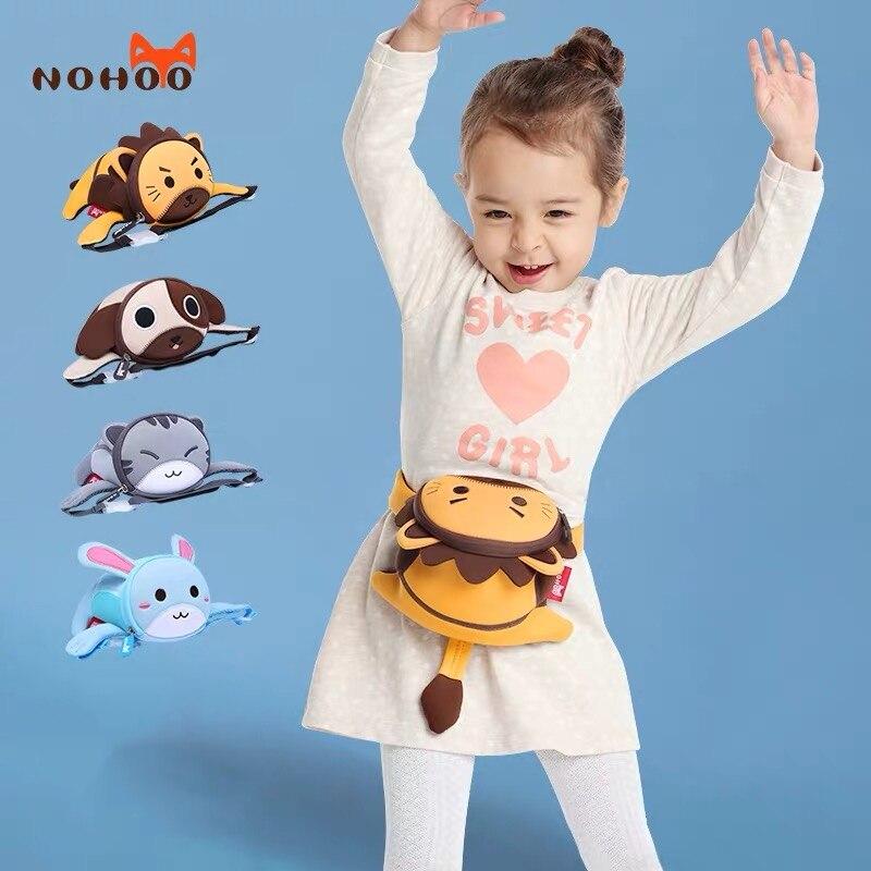 Bolsa da Cintura para Meninos Neoprene à Prova Bolsa de Bum Bolsa de Peito Bolsas de Peito 3d dos Desenhos Nohoo Meninas Mini Animados Fanny Pacote Dwaterproof Água Moda Crianças Animais