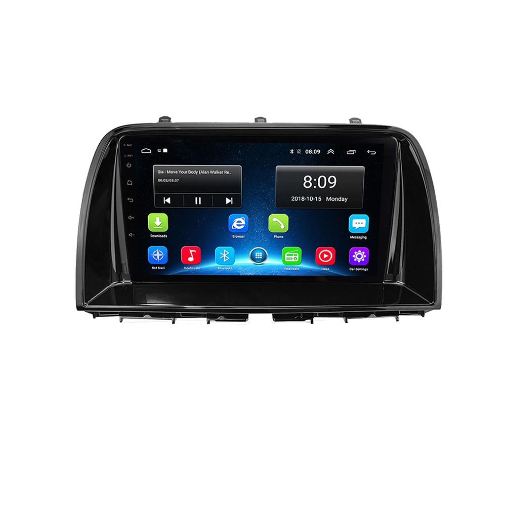 10,2 zoll Android 9,1 Radio Stereo Auto GPS Navigation Für Mazda CX5 2013-2015 Kopf Einheit multimedia Player WIFI bluetooth