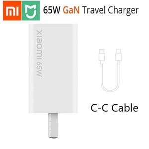 Image 1 - Original Xiaomi GAN 65W Charger 48% USB ขนาดเล็กประเภท C เอาต์พุตสมาร์ท PD Quick Charge 5V/9V/12V/15V = 3A 10V = 5A 20V = 3.25A