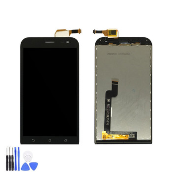 For Asus Zenfone Zoom ZX551ML LCD Display + Touch Screen Digitizer Full Assembly For ZX 551 ML Black/White