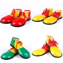 مرحلة الأداء تأثيري مهرج الدعائم مهرج الكبار مهرج أحذية أنيمي أحذية مثيرة للاهتمام أحذية كبيرة هالوين BOOCRE