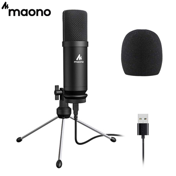 MAONO AU-A04TR USB Microphone 192kHz/24bit Professional Podcast Condenser Mic With Tripod Stand for Tiktok Youtube Vlogging 1