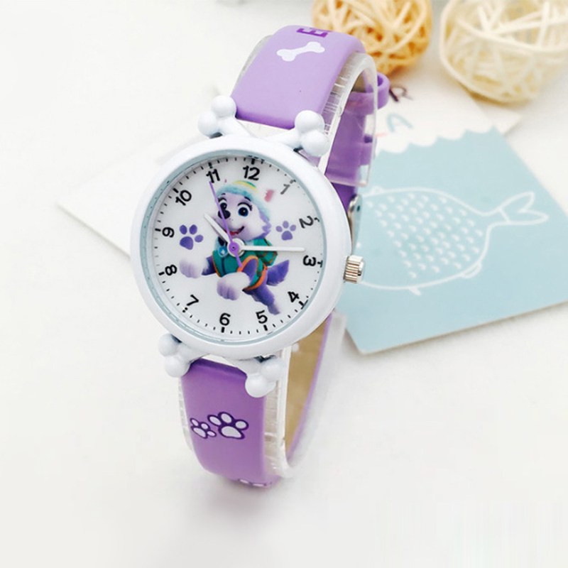 Paw Patrol Watches Digital Watch Time Develop Intelligence Learn Dog Everest Action Anime Figure Patrulla Canina Christmas Gifts