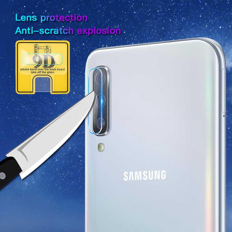 PEÇAS Para Samsung Galaxy A50 2 A30 A70 A20 9D Lente Da Câmera Protetor de Tela do Filme em UM 50 30 70 s10 Plus S10e S10 + S10 Lente de Volta Filme