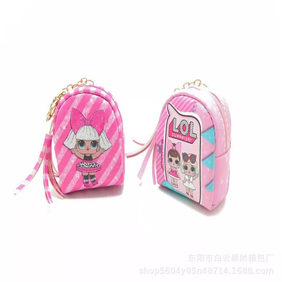 Натуральная LOL. Сюрприз кукла игрушечная фигура сумка Детская монета кошелек маленький кошелек ключи держатель для карт наушники сумки LOL кукла игрушка подарок|Куклы|   | АлиЭкспресс