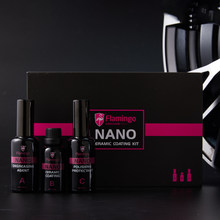 3Pcs Set Mobil Nano Ceramic Coating Kit 110 Ml Auto Care Cat Kaca Lapisan Polishing Pelindung Hidrofobik Perlindungan Sinar UV set(China)