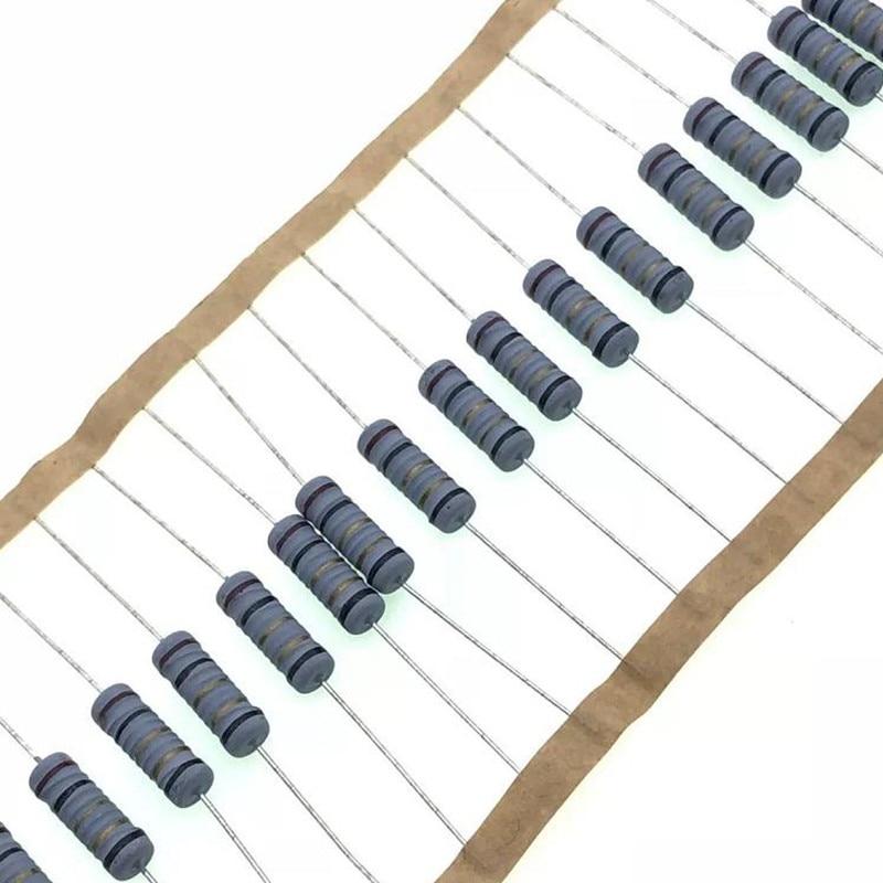 Резистор с проволочной обмоткой, 50 шт./лот, 1 Вт 5%, сопротивление обмотки предохранителя 0.1R 0.15R 0.33R 1R 2R 2.2R 3R 4.7R 5.1R 6.8R 10R 22R 47R 100R