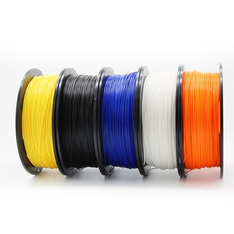 Createbot ABS и PLA пластика, Filament, PETG 3d принтеры нити 1,75 мм 1 кг для печати 3d Impressora Filamento 3d Расходные материалы для 3d Пластик Материал