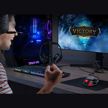 Computer Mouse Gamer Ergonomic Gaming Mouse USB Wired Game Mause 5500 DPI Silent Mice With LED Backlight 7 Button For PC Laptop 6