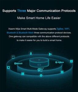 Image 5 - Xiaomi Mijia multi mode Smart Home Gateway 3 Zigbee Wifi Bluetooth Mesh Hub praca z aplikacją Mi Home i Apple Homekit Intelligent
