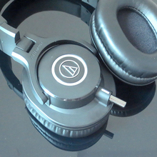 Diy fone de ouvido pino conector adaptador para áudio technica ATH M40x ATH M50x ATH M60x ATH M70X ath m40x m50x m60x m70x fones de ouvido