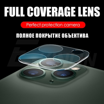 Full Set Coverage Frame Lens Protection Cover For iPhone 11 Pro Max Back Camera Protective Film Screen Protector Tempered Glass 1
