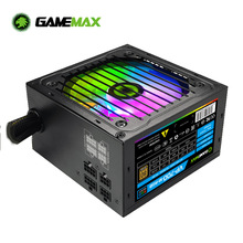 Gamemax Rgb 700W Rgb Pc Voeding Semi Modulaire 80 Plus Brons Gecertificeerd Met Rgb Licht Atx Computer Power supply VP-700-M-RGB