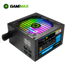 Power-Supply ATX Half-Modular Bronze Gamemax 80-Plus 700W PC Fan RGB VP-700-M-RGB