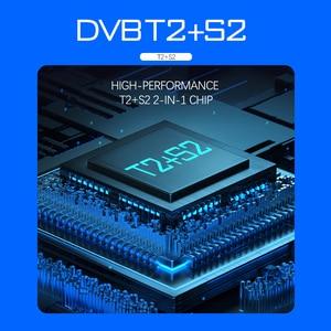 Image 5 - Newest DVB T2 DVB S2 Terrestrial Satellite Receiver Combo Support  Biss 1080P HD DVB T2 S2 Receptor DVB S2 Satellite receiver