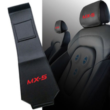 Pillow Mazda Dustproof-Cover for Mx-5/Mx5/Carbon-fiber/Leather Support-Pad 1PC Back-Headrest