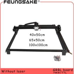 100x100 laser machine frame 6550 DIY Mini Laser Engraving Machine for connect 15w laser TTL 5500mw 2500mw PMW,4050 laser carving