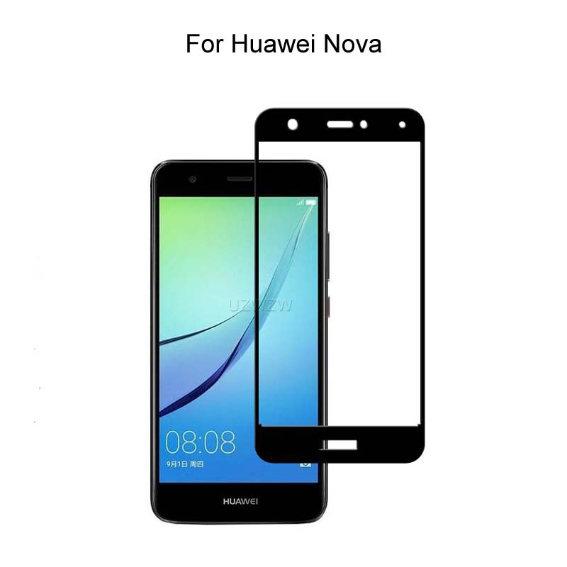 Tempered Glass For Huawei Nova (5.0 Inches) Full Cover Screen Protector Protective Film Tempered Glass For Huawei Nova