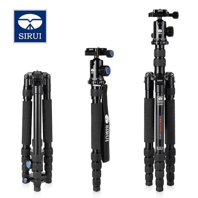 Sirui A1005 Travel Camera Tripod Lightweight Aluminum Tripod For DSLR SLR Canon Nikon Sony Olympus DV with Carry Bag