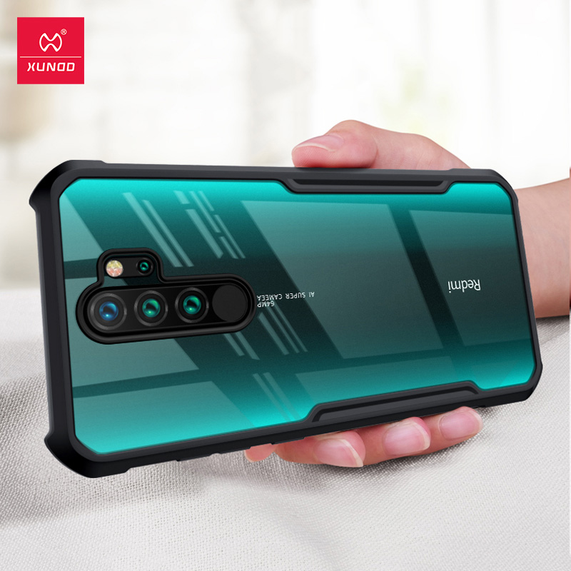 XUNDD Shockproof Phone Case For Xiaomi Redmi Note 8 Pro Case Protective Bumper Transparent Cover For Redmi Note 8 Note8 Pro Case Phone Case & Covers  - AliExpress