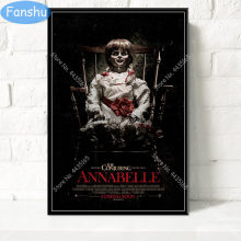 Annabelle Poster Classic Movie Series Hot Horror Canvas Painting Poster e stampe Wall Art Picture for Living Room Home Decor