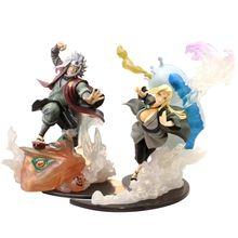 Figuras de acción de Naruto Shippuden Jiraiya Sennin sunade Zero, modelo de estatua de PVC, Juguetes coleccionables, muñecos de Anime, regalo