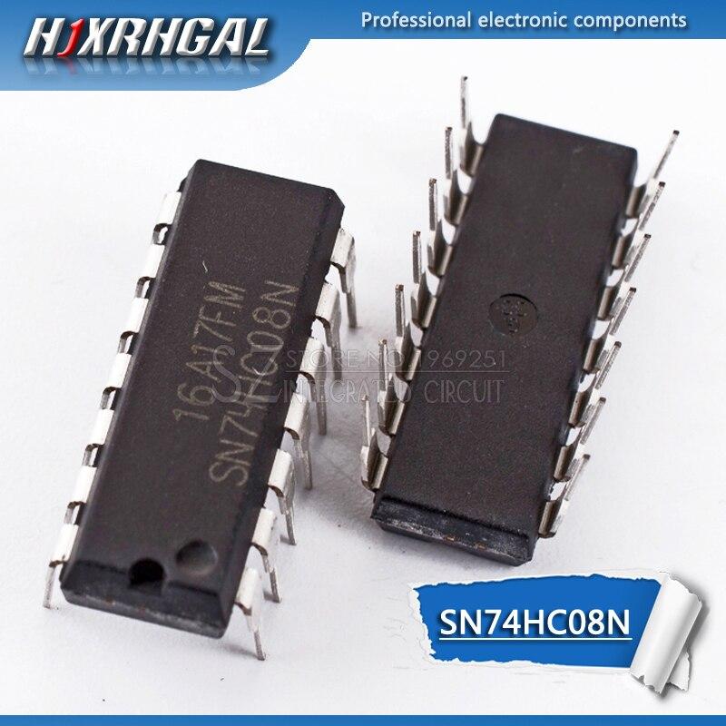 1PCS SN74HC08N DIP14 SN74HC08 DIP 74HC08N 74HC08 7408