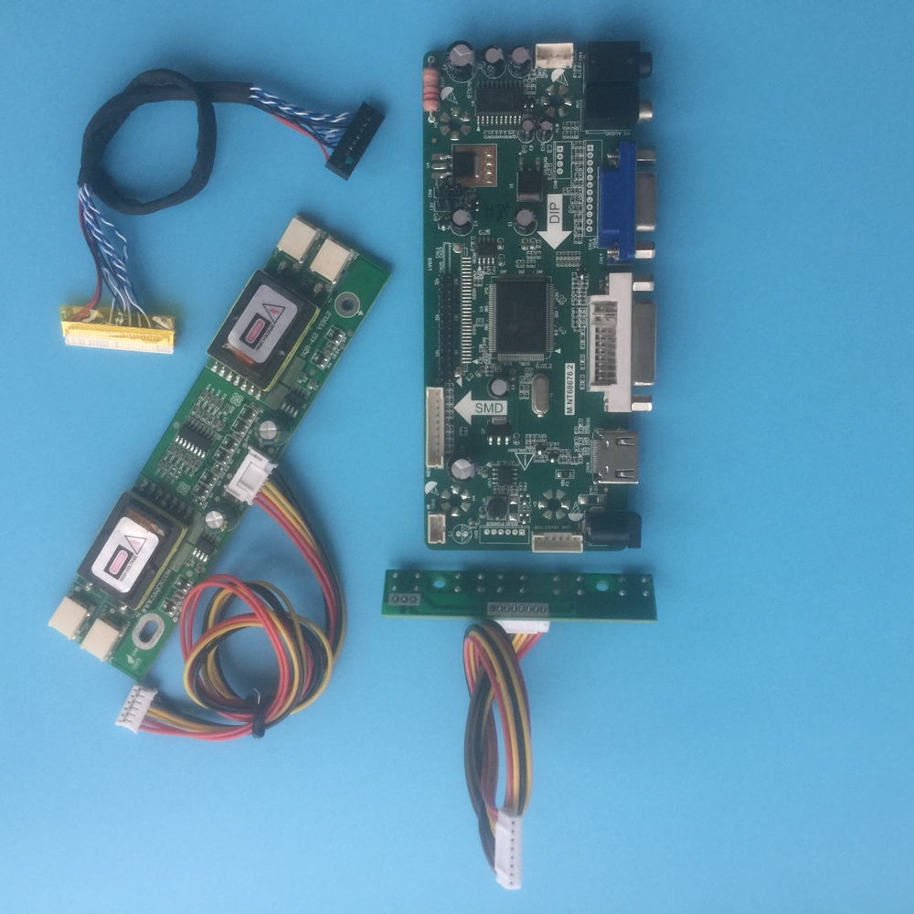 DVI VGA Kit For LP154W01 HDMI TL Audio LCD  Controller Driver Board D1